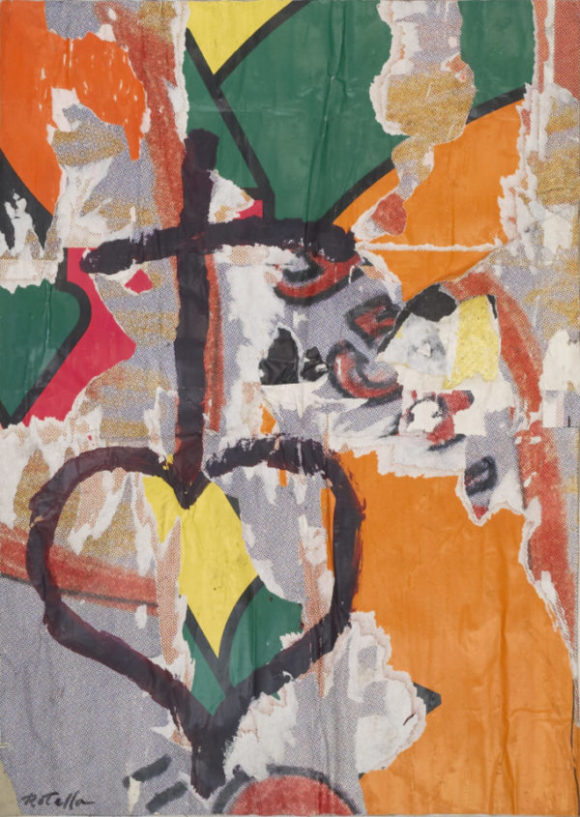 Cardi Gallery presents Mimmo Rotella at FIAC 2019