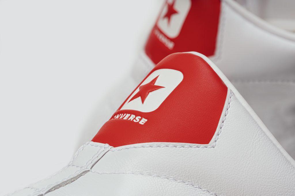 Converse: con il pack All Star la Pro Leather ritorna in bianco e rosso