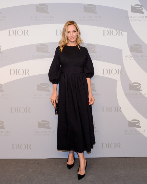Guggenheim International Gala 2019 Dinner Stars in Dior