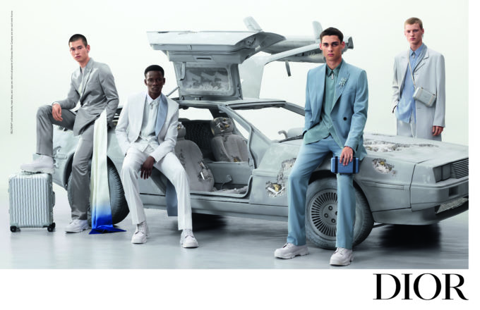 Dior unveils the Campaign for Kim Jones' Summer 2020 Men's Collection photographed by Steven Meisel.