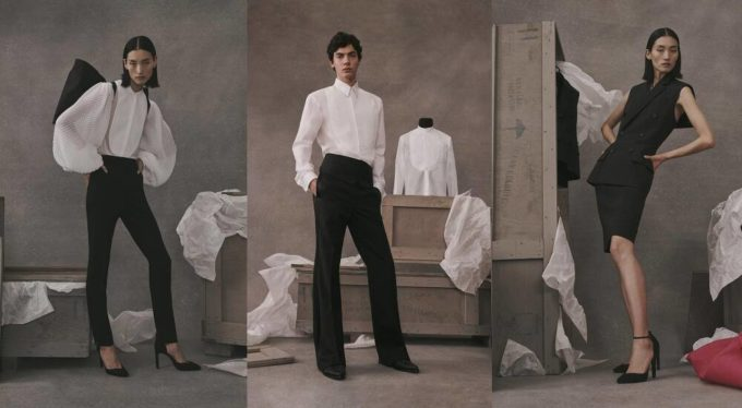 Givenchy Atelier ready-to-wear meets haute couture