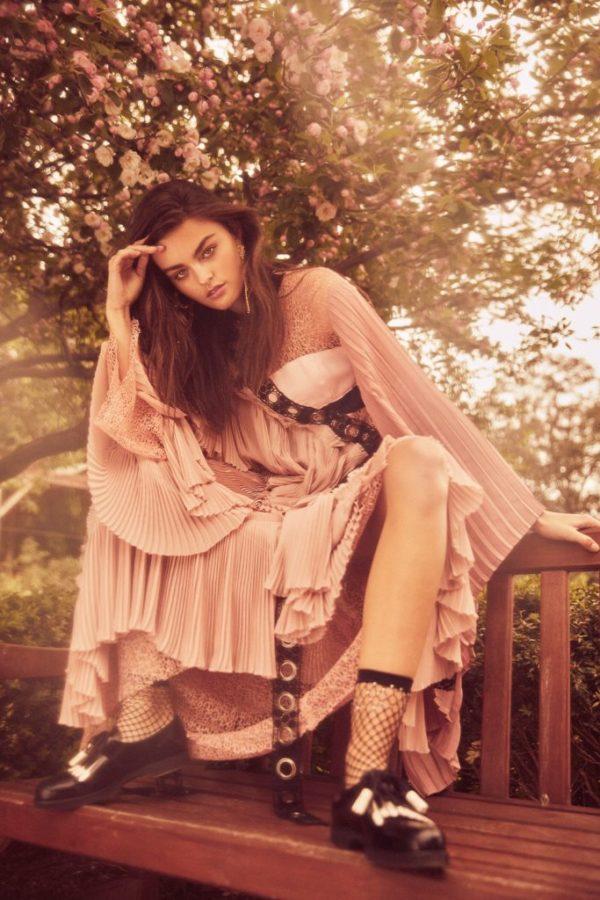 Liane Hurvitz Exclusively for Fashion Editorials with Freya Walton
