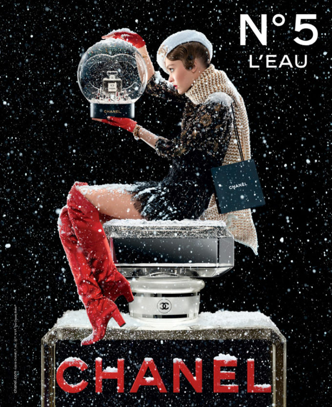 Photography © Jean-Paul Goude for Chanel