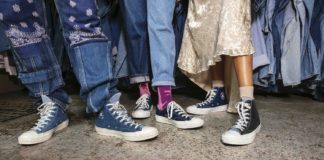 Converse Renew Tri Panel Denim Chuck 70