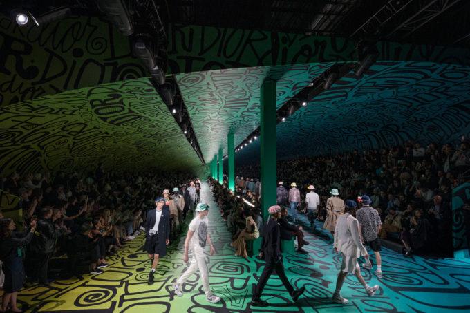 Dior Men's Fall 2020 show in Miami