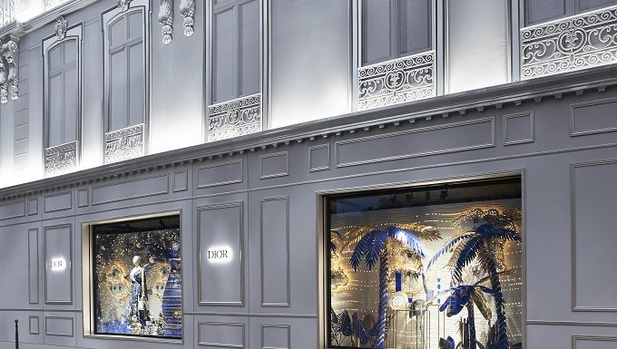 Dior presents an enchanting decor at 30 Avenue Montaigne