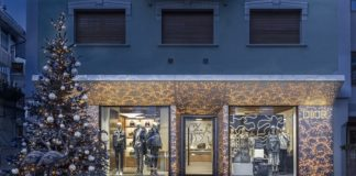 Dior presents its Pop-Up Store at Cortina d'Ampezzo