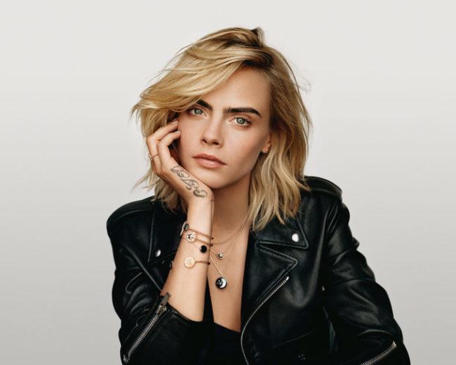 Dior presents the newRose Céleste jewelry designs