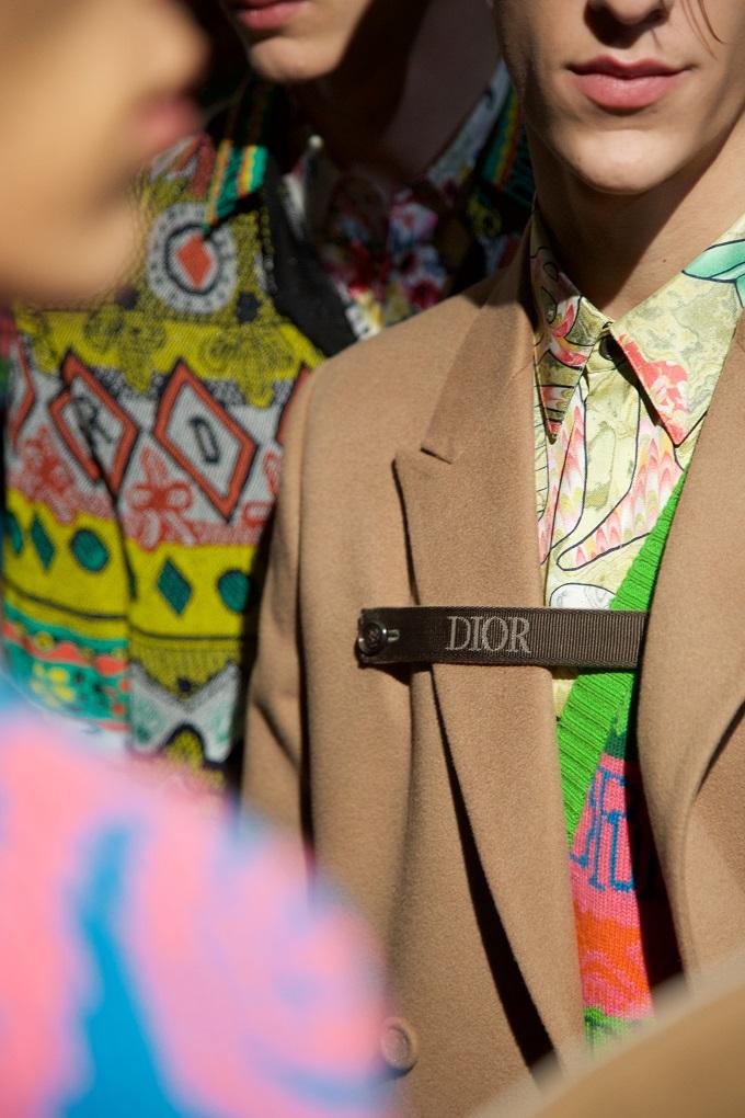 Backstage at Dior's Pre-Fall 2020 Miami Collection