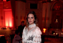 "Emma Watson wearing Burberry - ""Little Women"" After Party in New York"