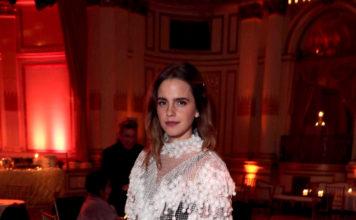 "Emma Watson wearing Burberry - ""Little Women"" After Party in New York"