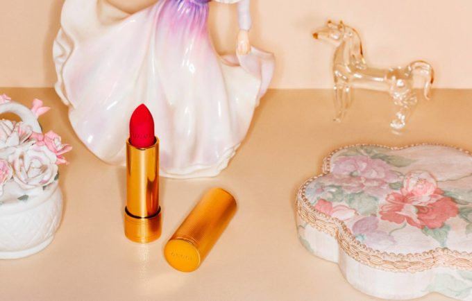 Gucci Beauty Makeup Rouge à Lèvres Mat Collection Campaign