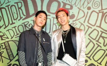 Jay Park and GraySeated front row at the Dior Men Fall 2020 show