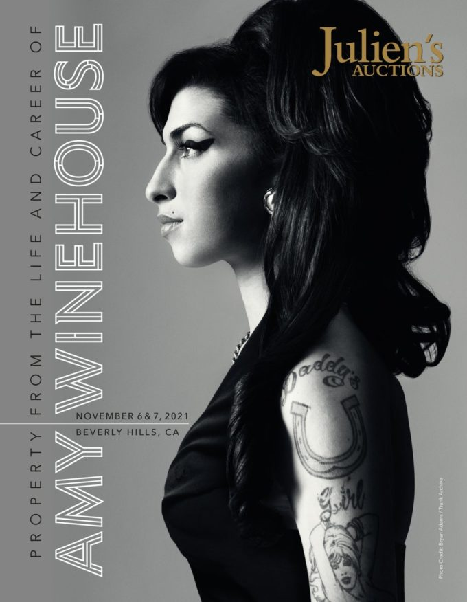 Julien's Auctions announces Property from the life and career of Amy Winehouse