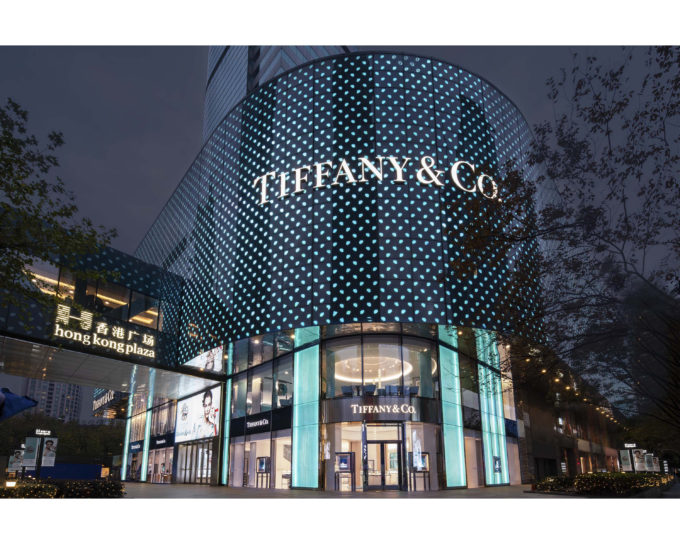 Tiffany & Co. Unveils Redesigned Flagship Store at Shanghai Hong Kong Plaza