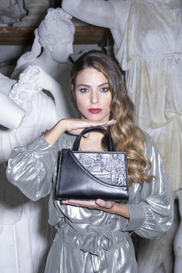 nascono le luxury bags cartolina di Femea Milano, in pelle e polvere di marmo