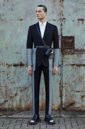 Alexander McQueen, the Autumn Winter 2020 Menswear Collection revealed in Milan