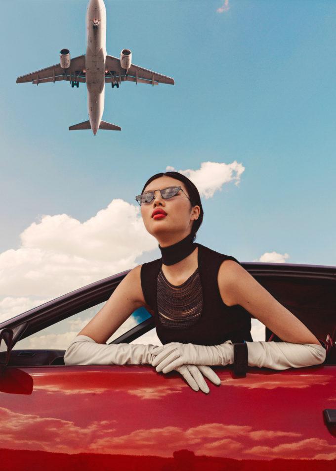 Ana Abril for Harper's Bazaar Arabia with Kayako Higuchi