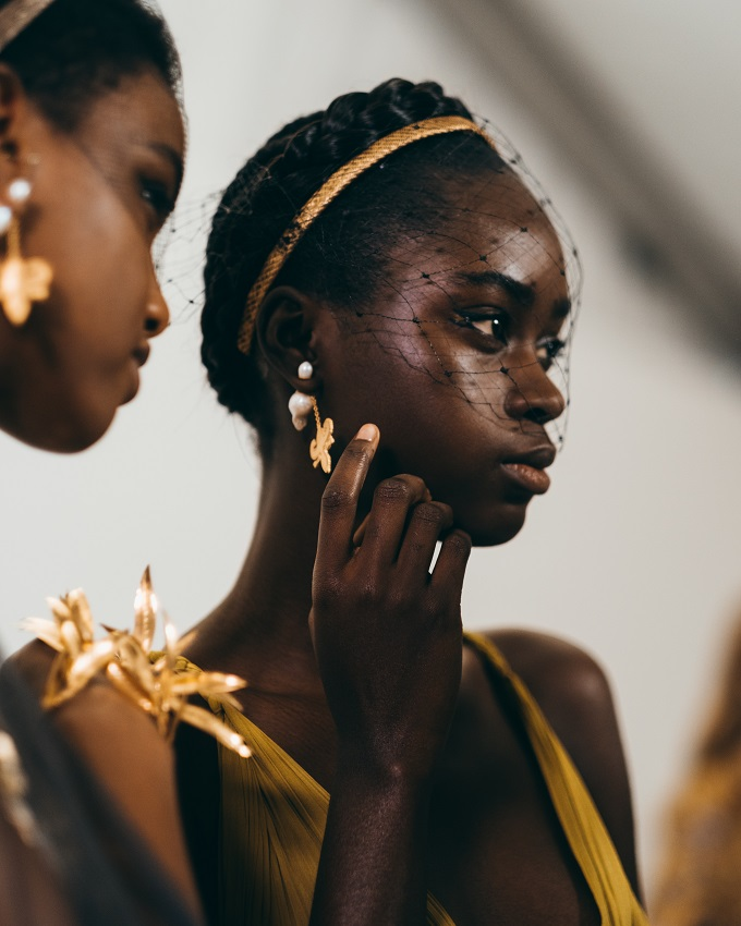 Backstage at Dior Couture Spring Summer 2020 Fashionpress.it