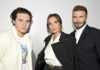 Victoria and David Beckham for the Dior Men's Winter 2020 Show