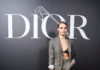 Cara Delevingne attends the Dior Homme Menswear FW 2020-2021 SHOW
