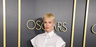 Oscars Nominees Luncheon 2020:Charlize Theron in Dior