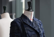 Dior presents the savoir-faire behind thecamouflage version of theBarjacket