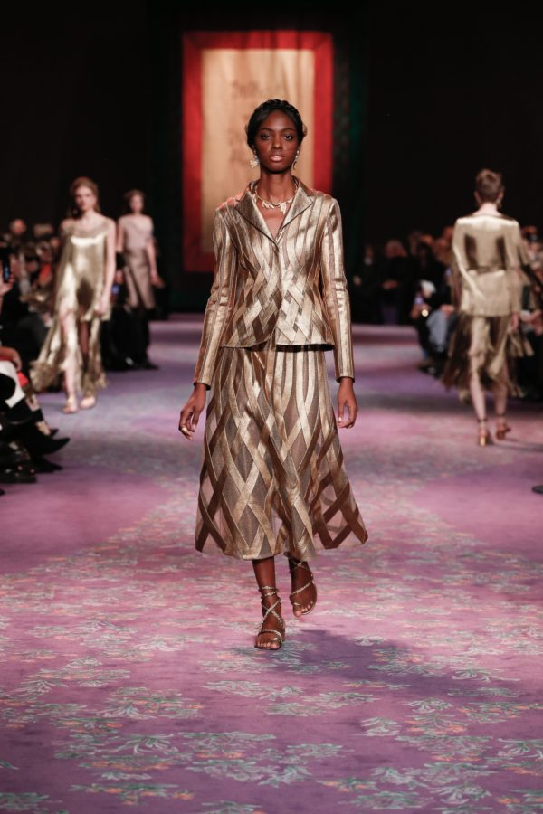 Precious Dior couture tailoring takes shape