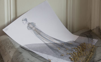 Dior Haute Couture Spring-Summer 2020 Savoir-Faire Broderie Vermont
