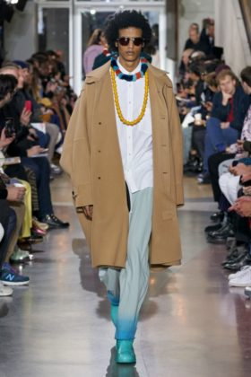 Lanvin Fall 2020 Menswear Collection by Bruno Sialelli