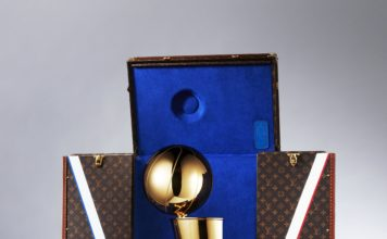 Louis Vuitton e NBA annunciano la loro partnership globale e l'esclusivo baule per il Larry O'Brien Trophy
