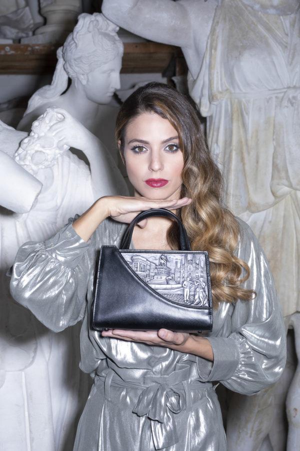 """Nascono le luxury bags """"cartolina"""" di Femea Milano, in pelle e polvere di marmo"""