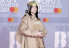 Billie Eilish wore Burberry to the BRIT Awards in London last evening