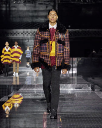 Burberry Fall 2020 Runway Show at London Fashion Week