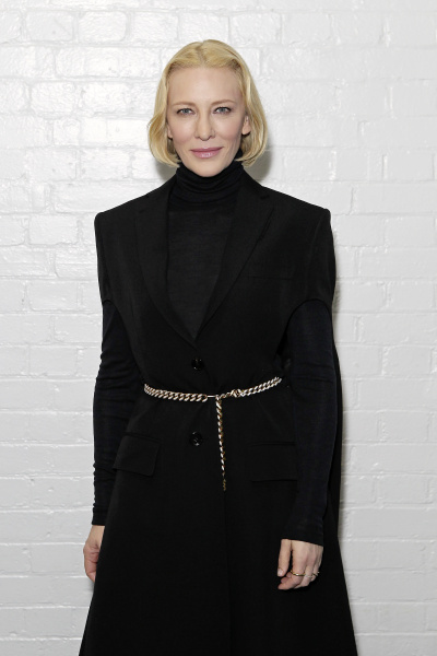 London Fashion Week – Cate Blanchett attends Burberry's Show