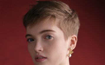 Dior presents a special Valentine's Day Edition of its Tribales earrings