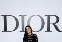 Demi Moore wore a Dior