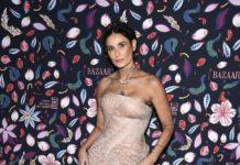 Dior presents the Celebrities attending the Harper's Bazaar Exhibition