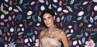 Dior presents the Celebrities attending the Harper's Bazaar Exhibition