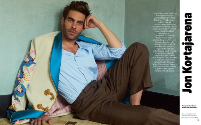 Jon Kortajarena for Esquire Turkey by Alan Gelati