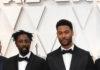 Djibril Zonga wore a Dior Men Spring 2020