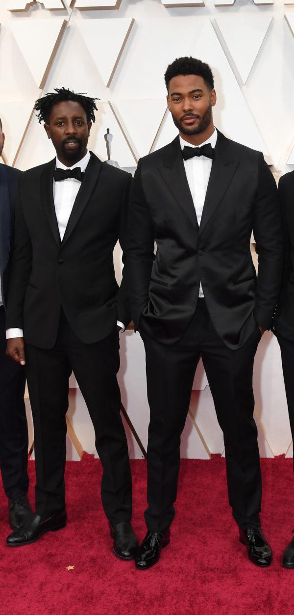 Djebril Zonga wore a Dior Men Spring 2020