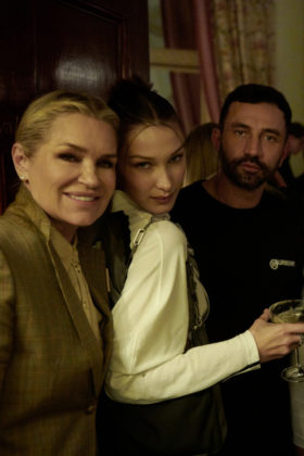 Riccardo Tisci hosted a party to celebrate the Burberry Autumn/Winter 2020 Show