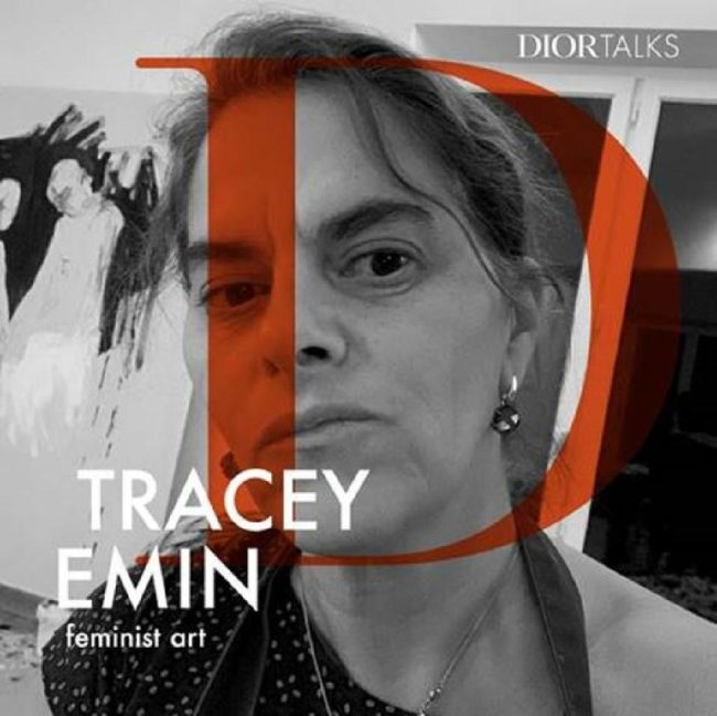 Dior presents a new episode of #DiorTalks with the British artist Tracey Emin