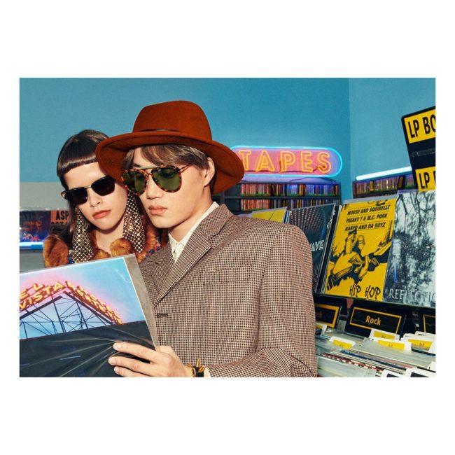 Gucci KAI e Ni Ni sono i protagonisti della nuova campagnaEyewear