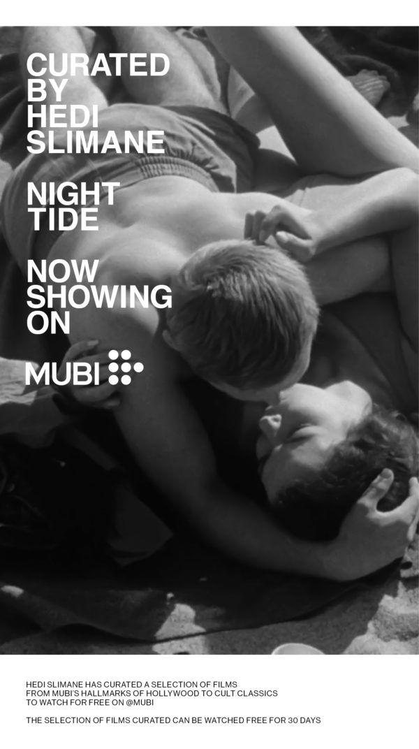 Mubi Films Curated by Hedi Slimane