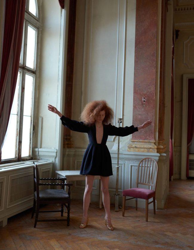 Linda Leitner for Vogue Portugal with Eline Bo