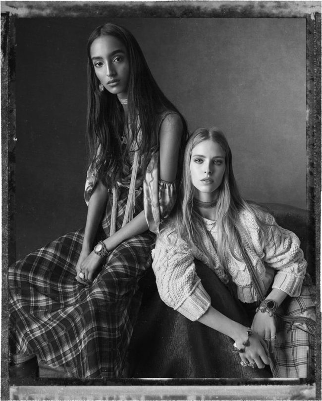 """Presenting """"The Romantics"""" for ZARA SS20 Creative Direction by Fabien Baron shot by Steven Meisel"""