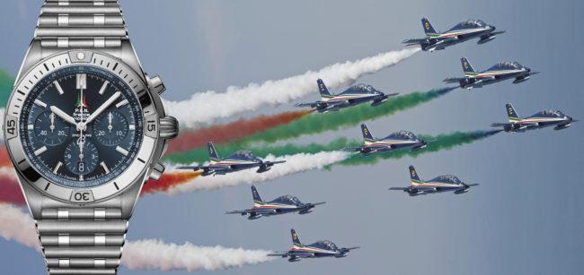 Breitling omaggia le Frecce Tricolori orgoglio Italiano nel Mondo