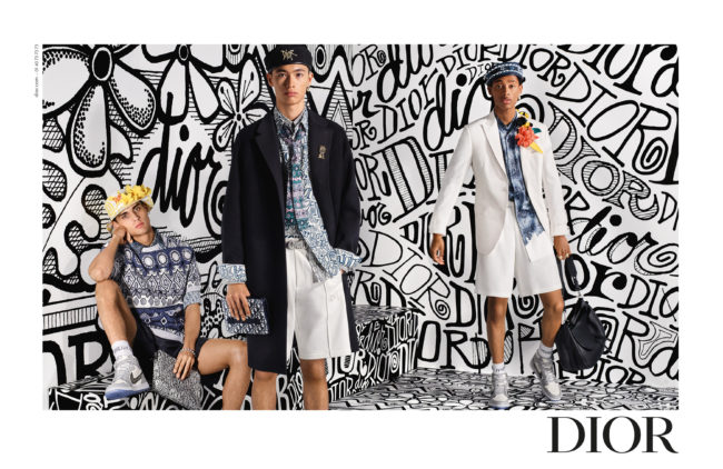 Shawn Stüssy Lends His Wavy Graphics to Dior's Pre-Fall 2020